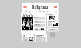 "The ""Great"" Depression"