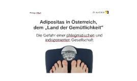 Adipositas in Österreich,