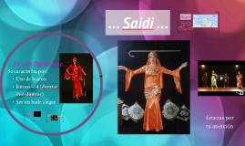 Saidi Danza Árabe