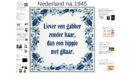 3h Nederland na 1945