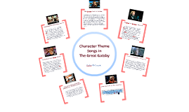 Copy of Character Theme Songs in The Great Gatsby