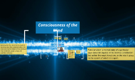Consciousness of Mind
