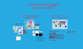 3eme SIA - La France dans l'UE et dans le monde