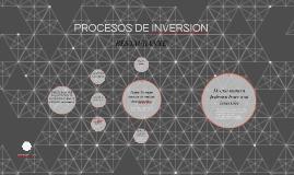 PROCESOS DE INVERSION