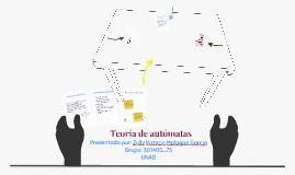 Teoria de automatas