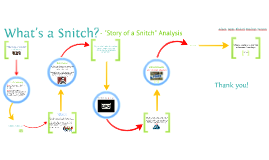 "What's a Snitch? ""Story of a Snitch"" Analysis"