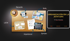 Copy of ORGANIZACIÓN EN LA JEFATURA