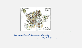 the evolution of Jerusalem planning