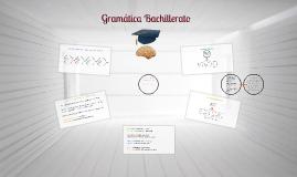 Gramática para bachillerato