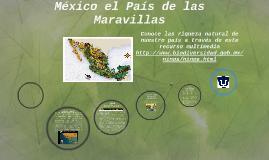 Copy of México el País de las Maravillas