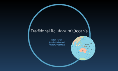 Traditional Religions of Oceania