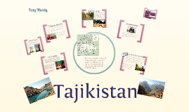 Tajikistan - Modern Middle East