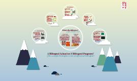 Copy of A Bilingual School