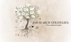 Copy of JOB SEARCH STRATEGIES