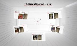 TV INVESTIGACION 1 CORTE COE