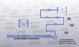 RIESGO DE CRÉDITO Y FINANCIACIÓN