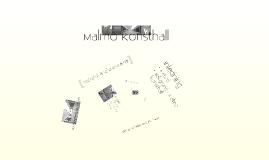 Copy of Miljöledningsprojekt: Malmö konsthall