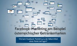 Copy of Facebook-Marketing am Beispiel österreichischer Getränkemark