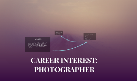 CAREER INTEREST: PHOTOGRAPHER FOR NATIONAL GEOGRAPHIC