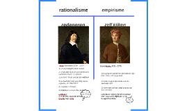 Descartes & Hume