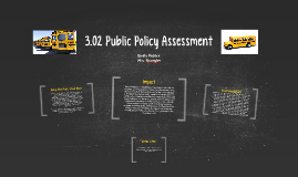 3.02 Public Policy Assessment