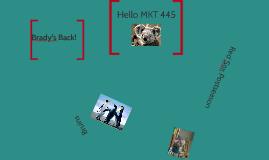 Hello MKT 445