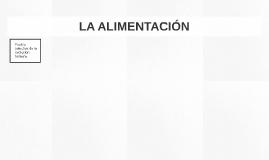 LA ALIMENTACIÓN