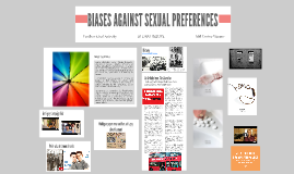 Biases Against Sexual Preferences