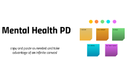 Mental Health PD