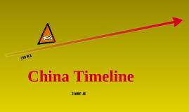 China Timeline 3A Juan D.