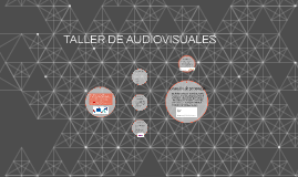TALLER DE AUDIOVISUALES