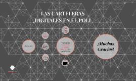 LAS CARTELERAS DIGITALES EN EL POLI