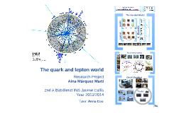 The quark and lepton world