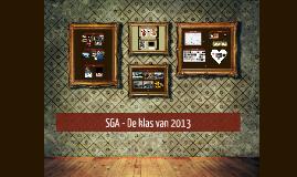 SGA - Klas van 2013