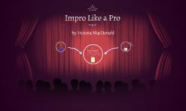 Drama-Impro like a pro