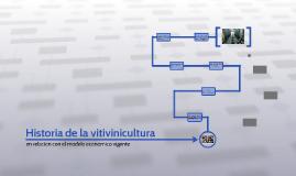 Historia de la vitivinicultura