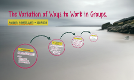 Copy of Group Work