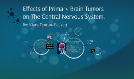 Effects of Brain Tumors on The Nervous System
