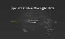 Expressions School and Office Supplies Stores