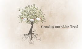 Growing our 5Linx Tree!
