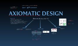 Axiomatic Design - Poly Montréal