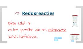 V5 Redox: Tabel 48