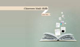 Classroom Study Skills