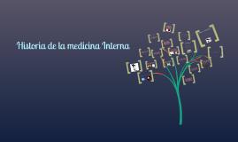historia de la medicina interna