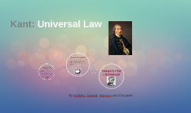 Kant: Universal Law