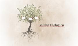 Asfalto Ecologico