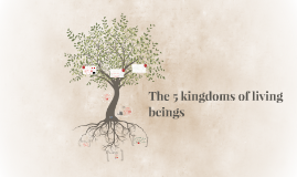 5 kingdoms of living things