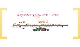 Copy of República Velha: oligarquias, abalos e queda