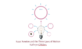 Isaac Newton and the Three Laws of Motion