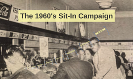 The 1960's Sit-In Campaign